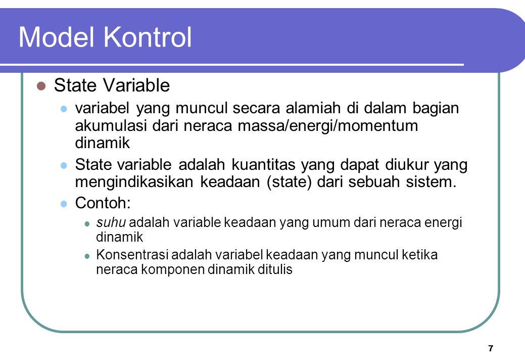 Model Kontrol State Variable