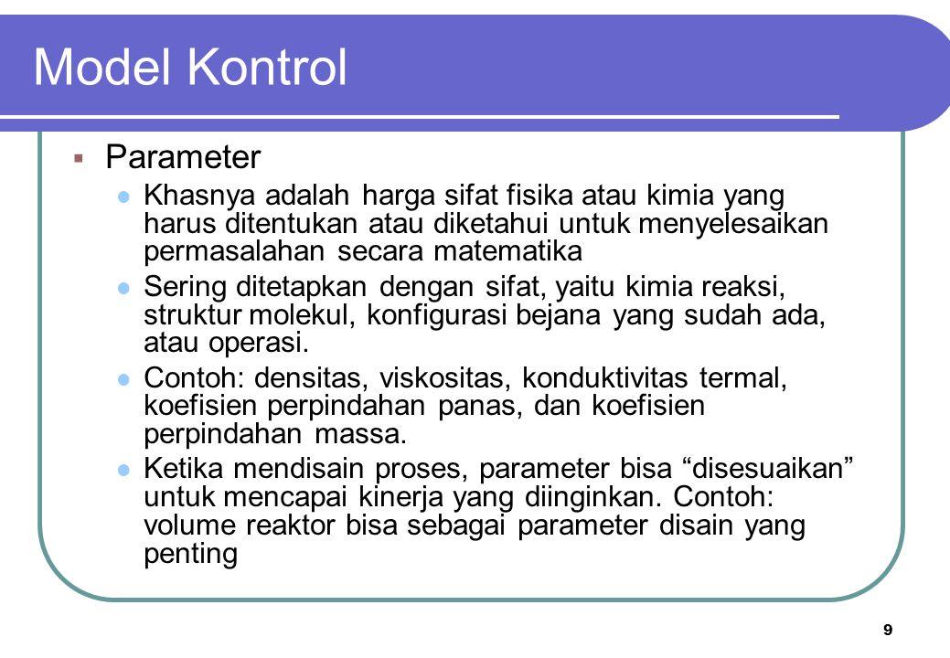Model Kontrol Parameter