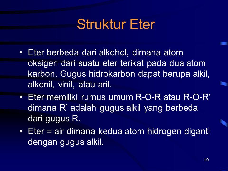Struktur Eter