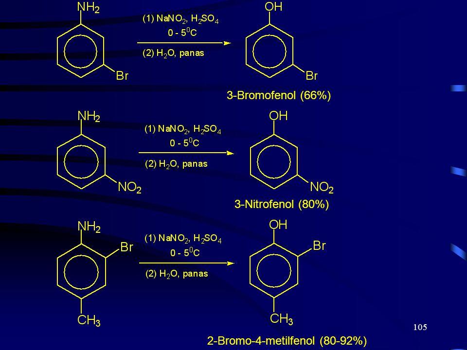 2-Bromo-4-metilfenol (80-92%)