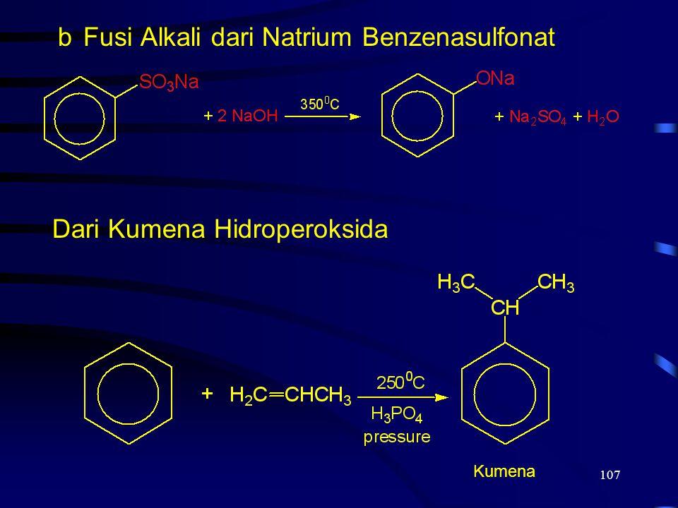 Fusi Alkali dari Natrium Benzenasulfonat