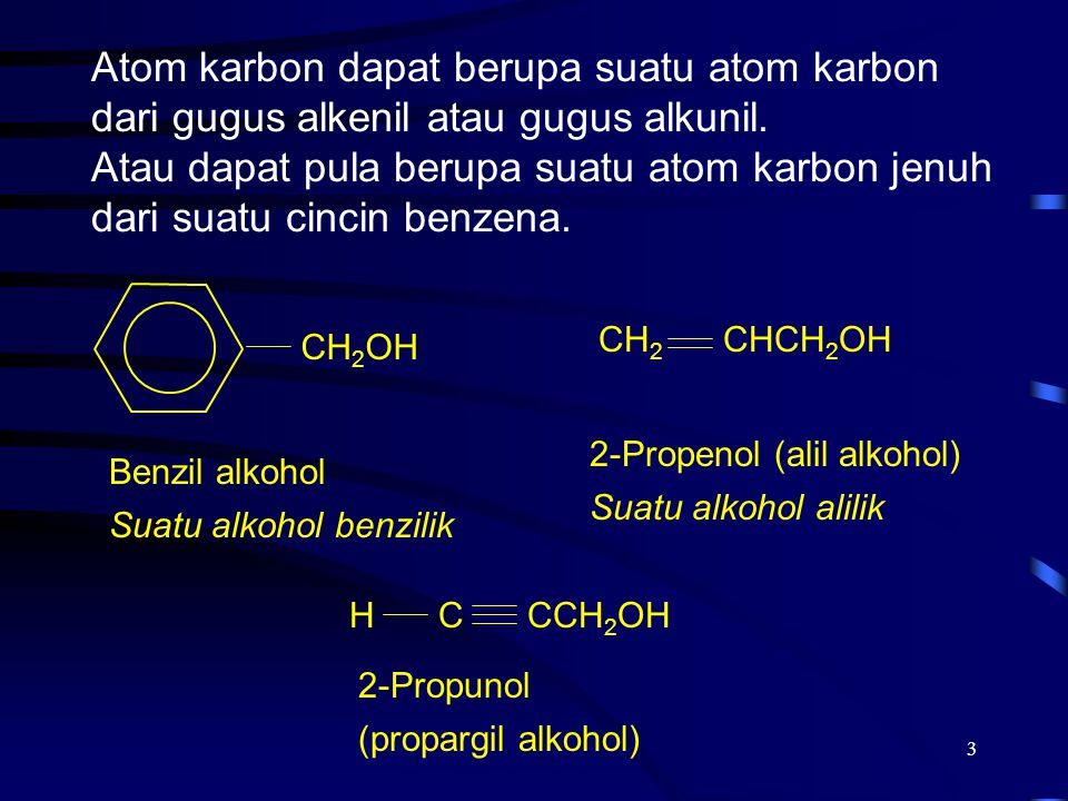 2017/4/8 Atom karbon dapat berupa suatu atom karbon dari gugus alkenil atau gugus alkunil.