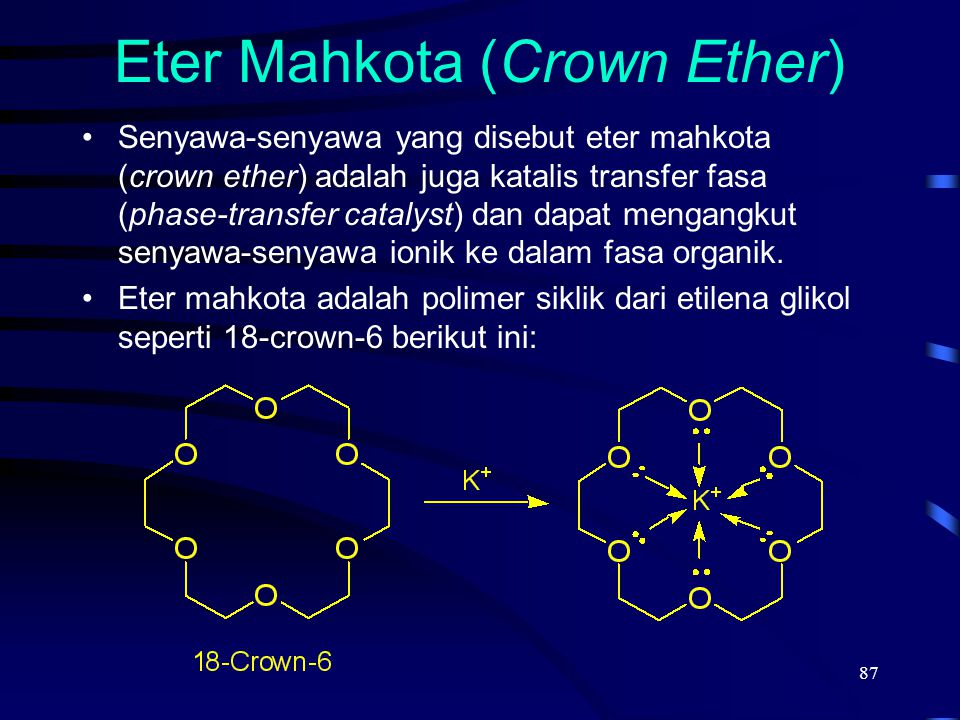 Eter Mahkota (Crown Ether)