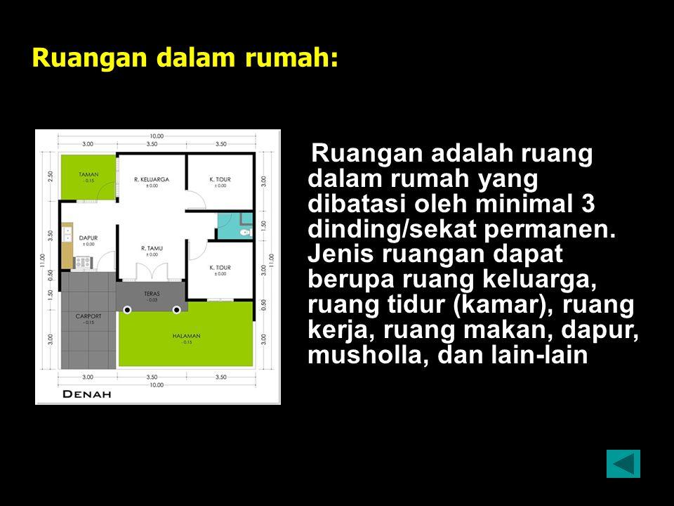 Ruangan dalam rumah:
