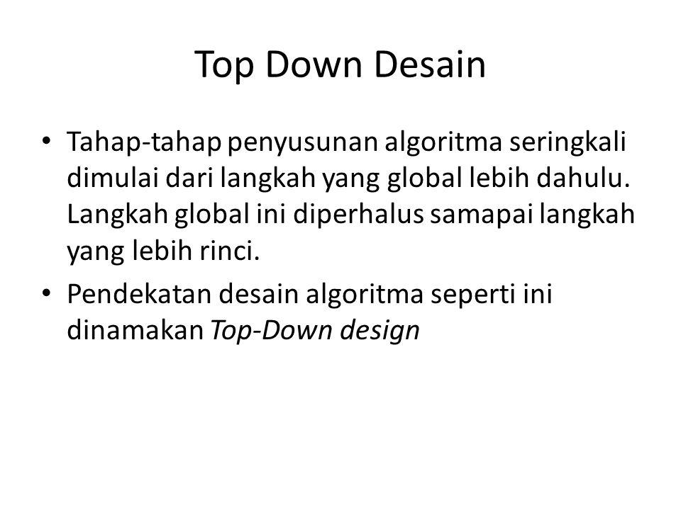 Top Down Desain