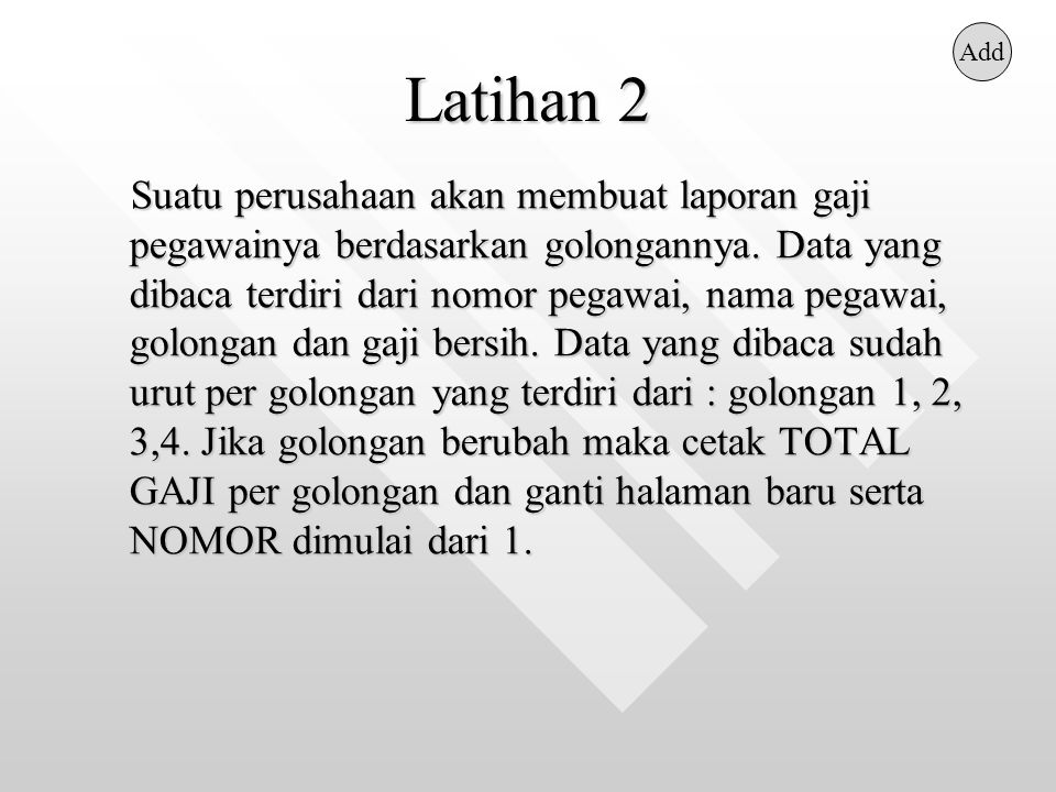 Latihan 2 Add.