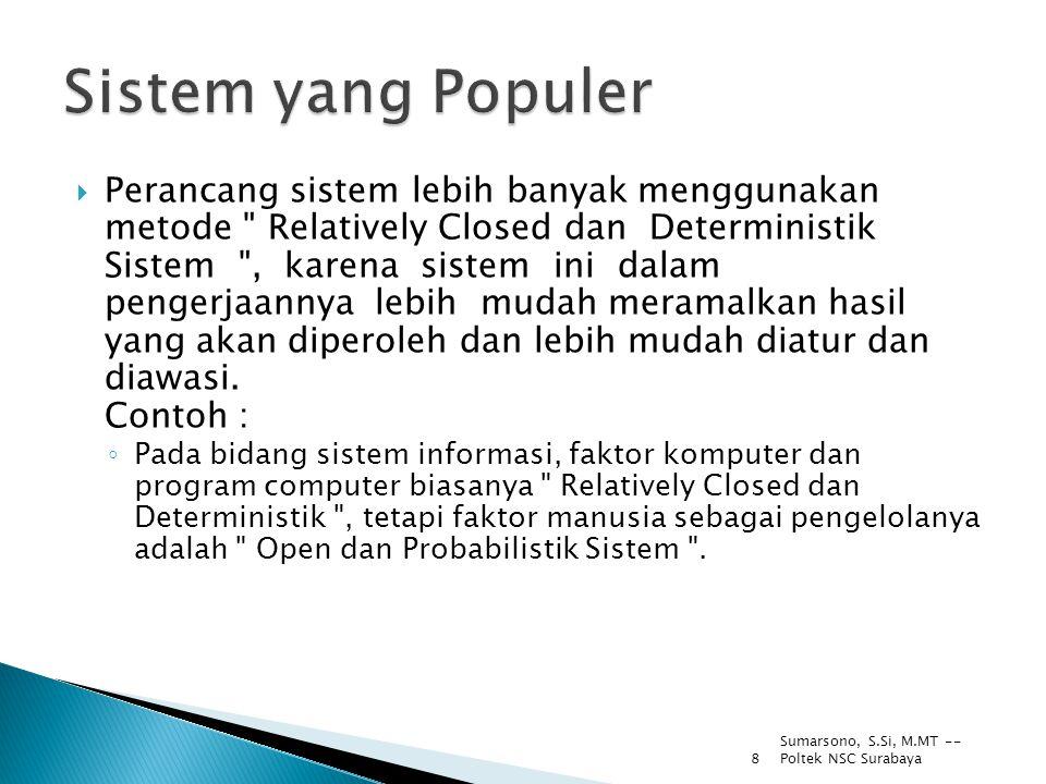 Sistem yang Populer