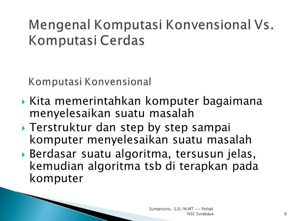 Mengenal Komputasi Konvensional Vs. Komputasi Cerdas