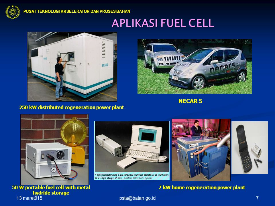 50 W portable fuel cell with metal