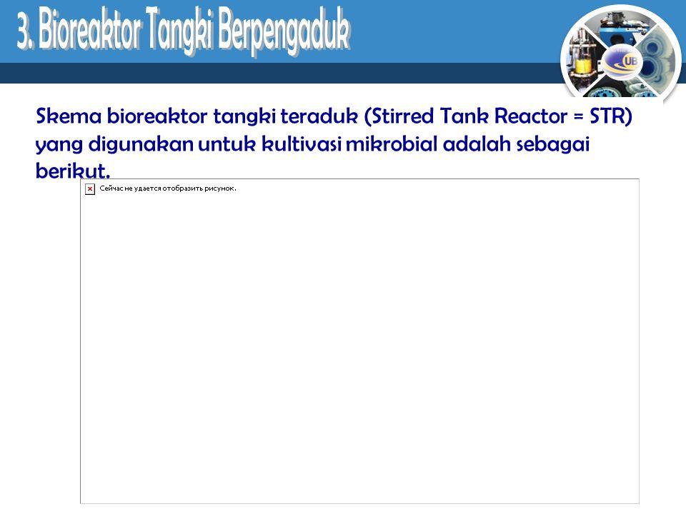 3. Bioreaktor Tangki Berpengaduk