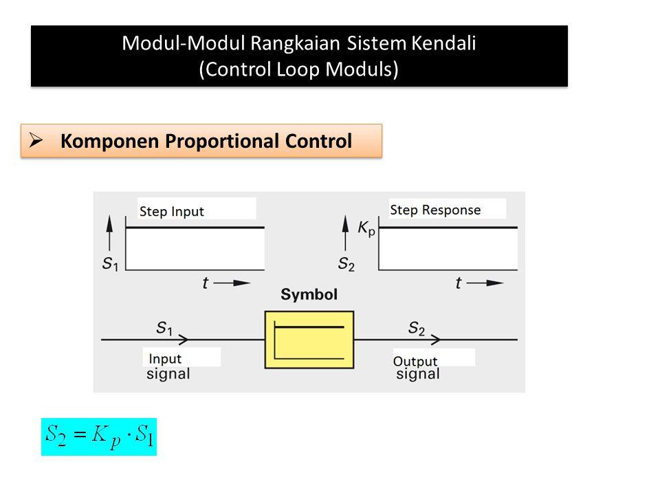 Modul-Modul Rangkaian Sistem Kendali