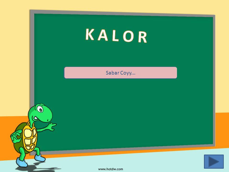 K A L O R Sabar Coyy...