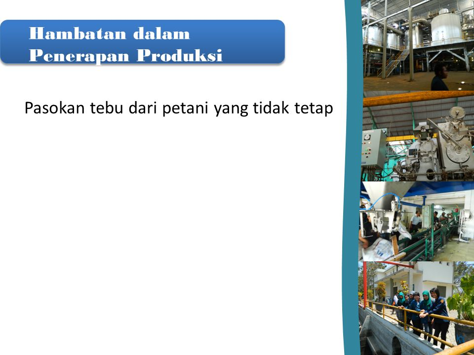 Hambatan dalam Penerapan Produksi