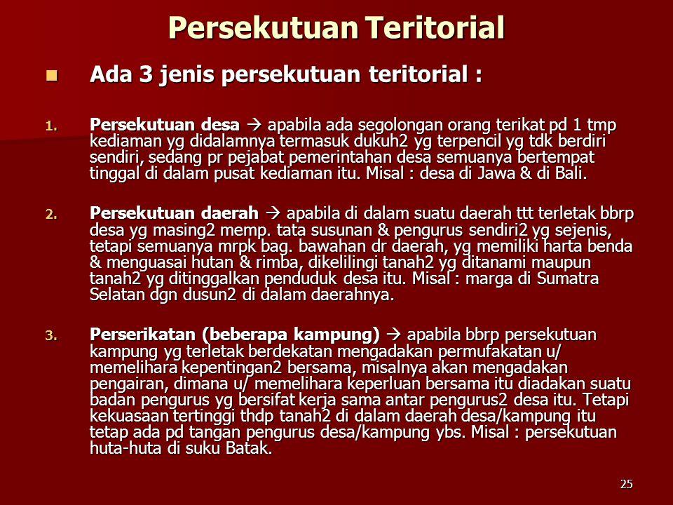 Persekutuan Teritorial