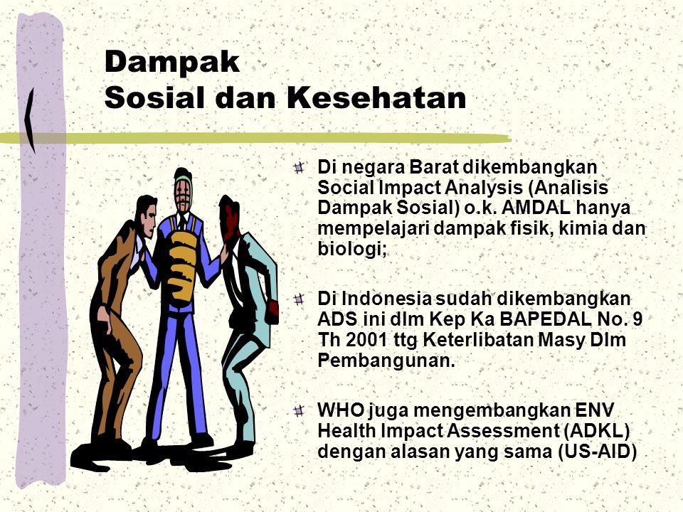 Dampak Sosial dan Kesehatan