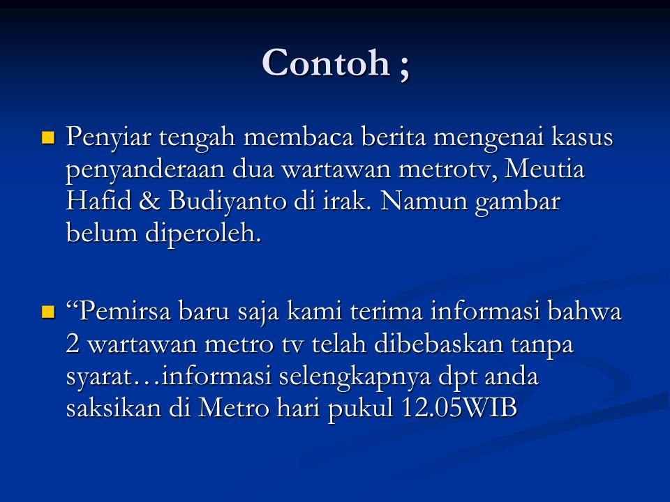 Contoh ;