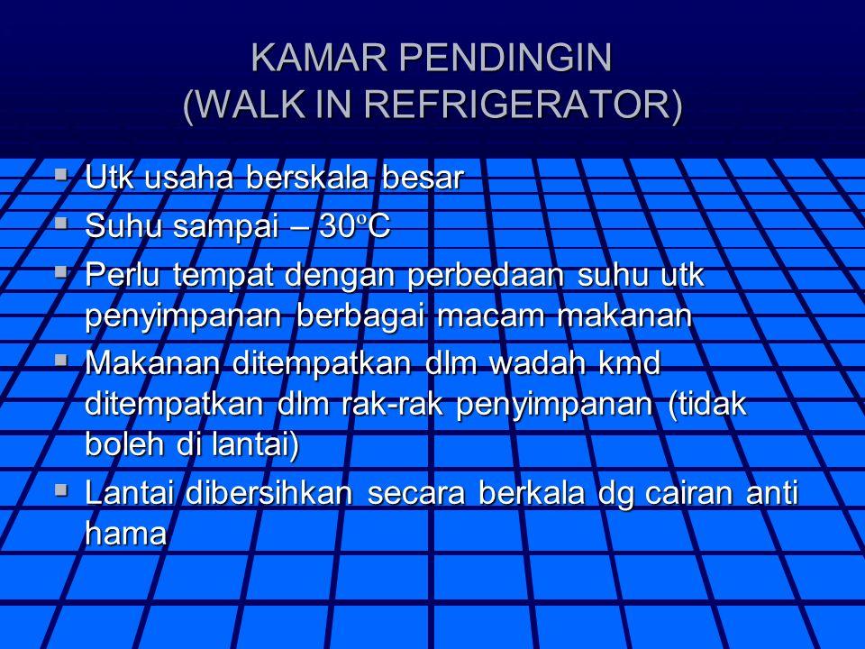 KAMAR PENDINGIN (WALK IN REFRIGERATOR)
