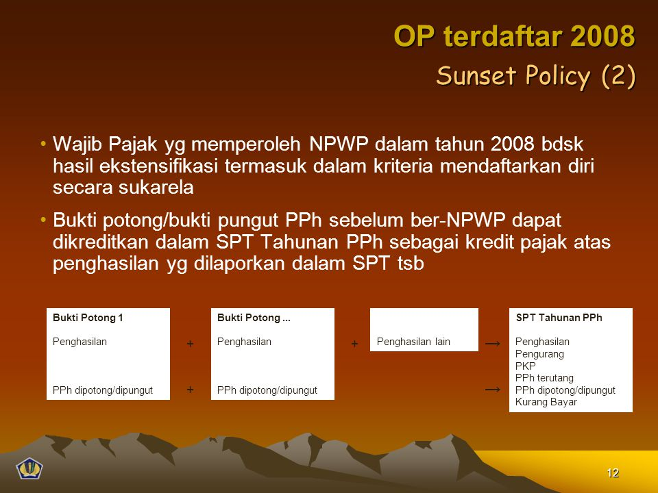 OP terdaftar 2008 Sunset Policy (2)