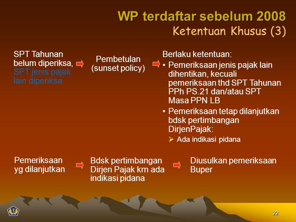 Pembetulan (sunset policy)