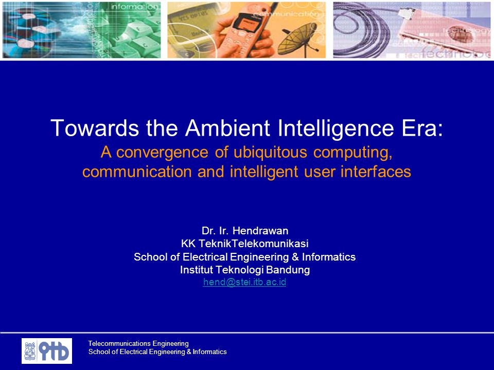 Towards the Ambient Intelligence Era: A convergence of ubiquitous computing, communication and intelligent user interfaces