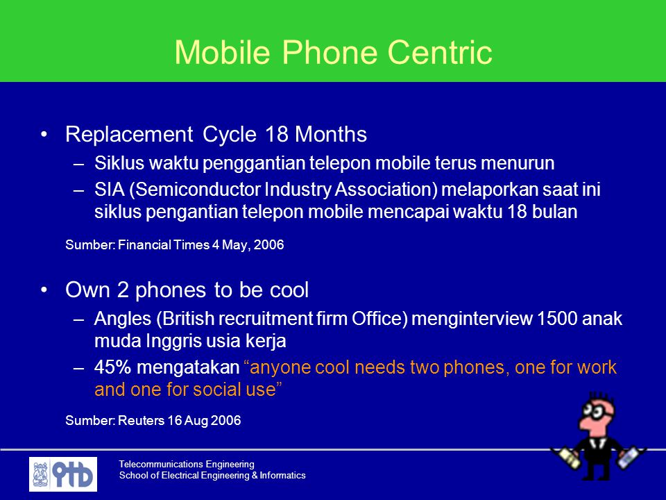 Mobile Phone Centric Replacement Cycle 18 Months