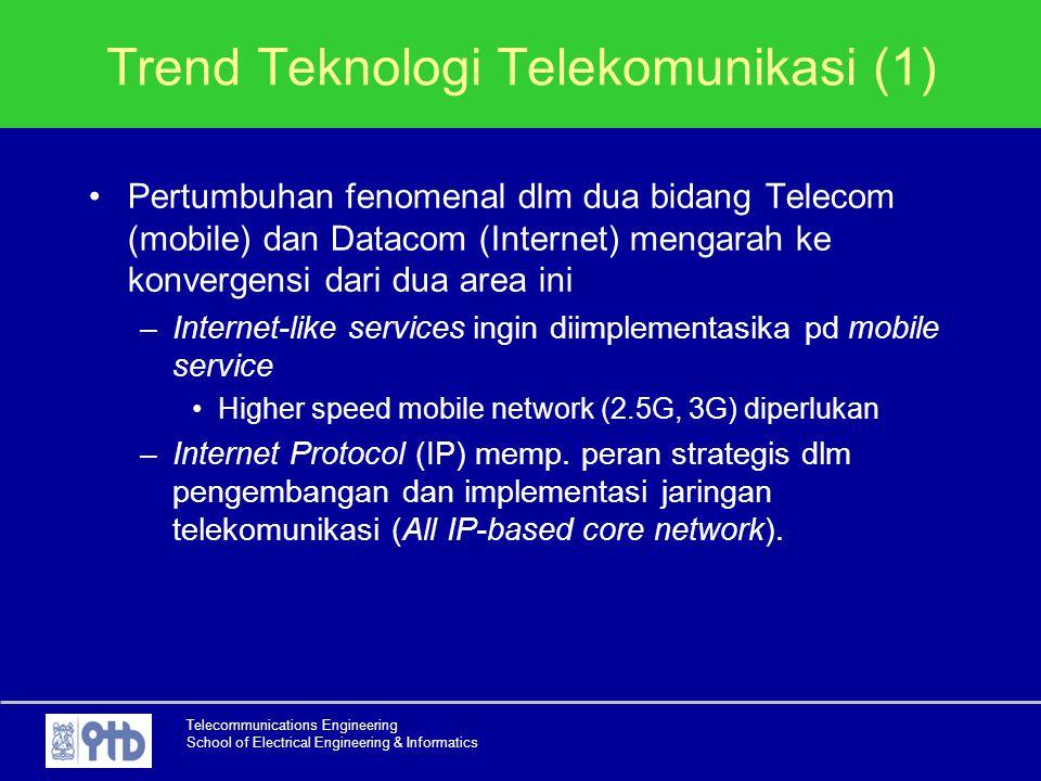 Trend Teknologi Telekomunikasi (1)