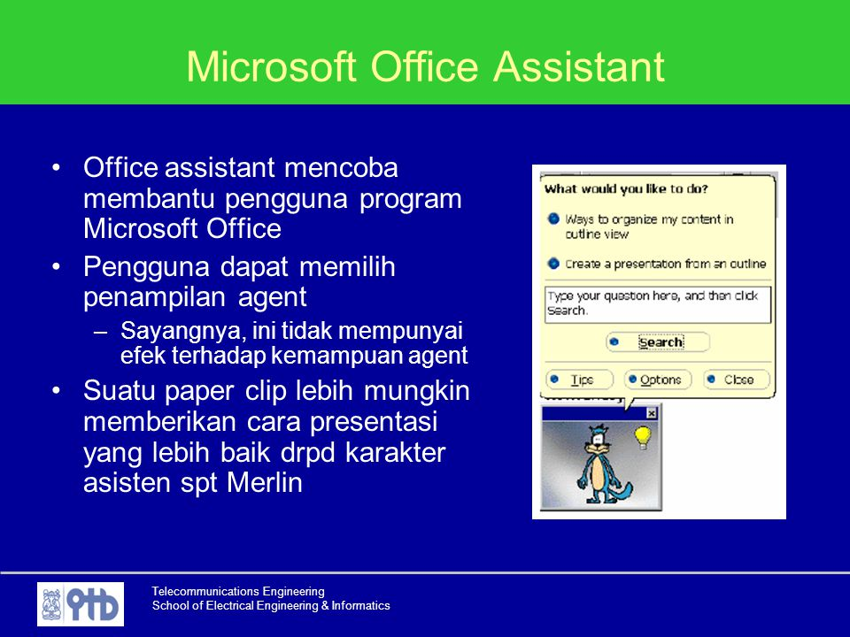 Microsoft Office Assistant