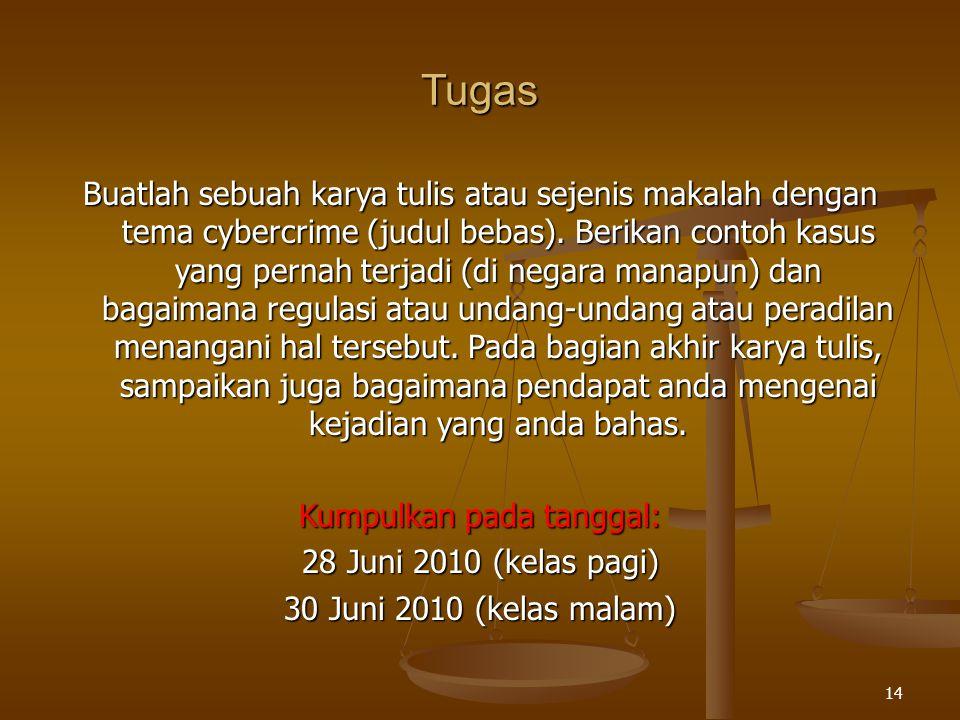 Kumpulkan pada tanggal: