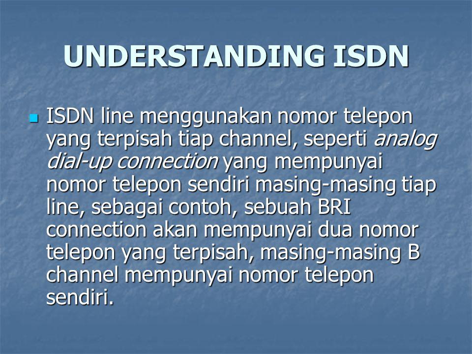UNDERSTANDING ISDN