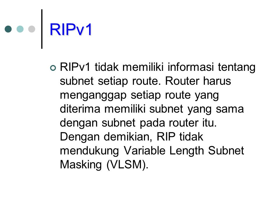 RIPv1