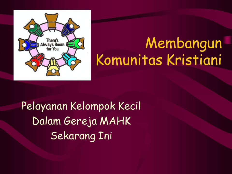 Membangun Komunitas Kristiani
