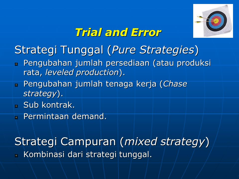 Strategi Tunggal (Pure Strategies)