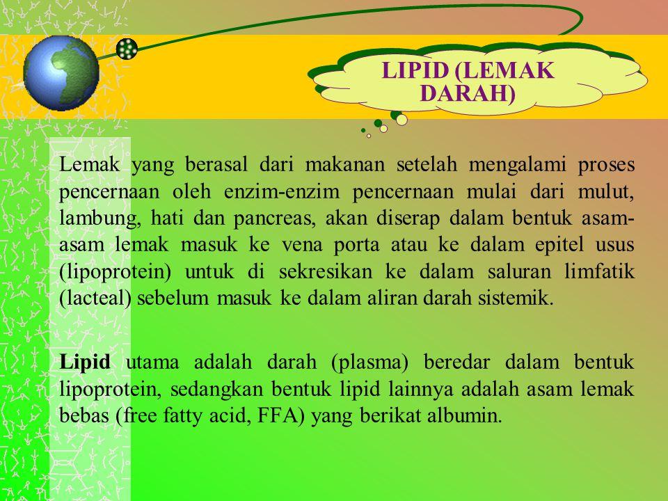 LIPID (LEMAK DARAH)