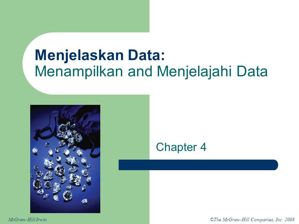 Menjelaskan Data: Menampilkan and Menjelajahi Data