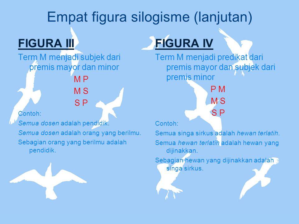 Empat figura silogisme (lanjutan)