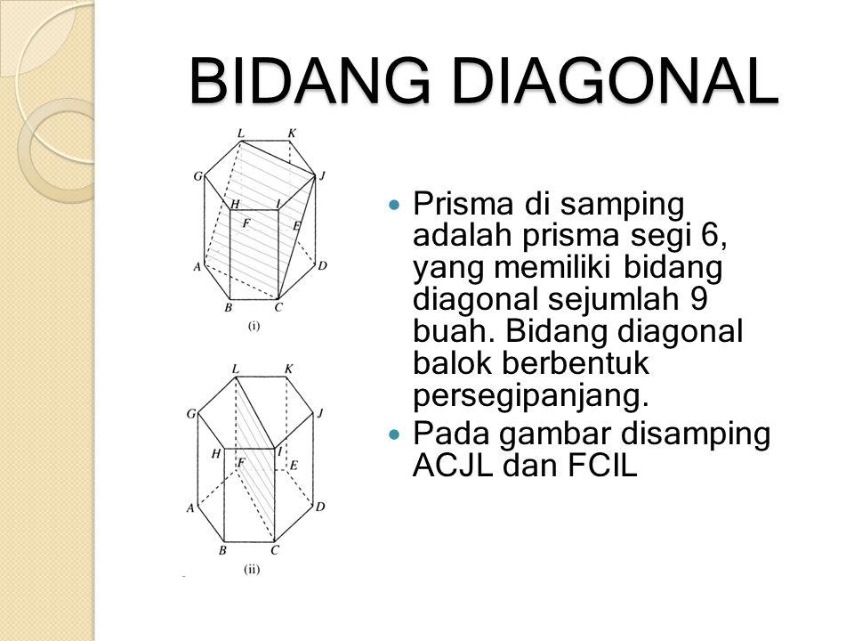 BIDANG DIAGONAL