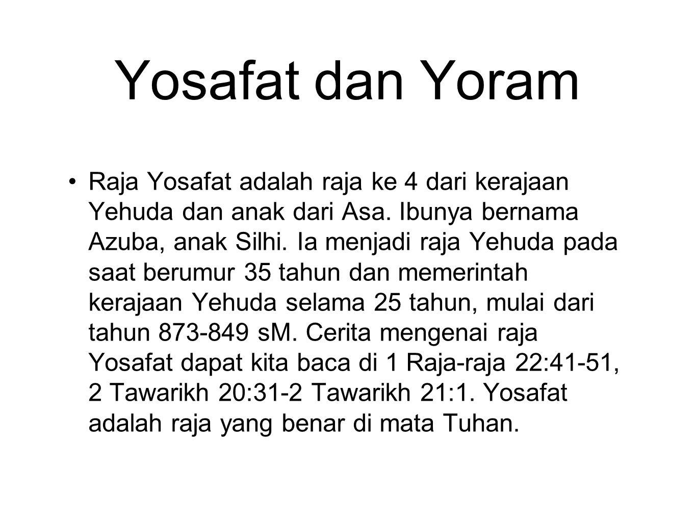 Yosafat dan Yoram
