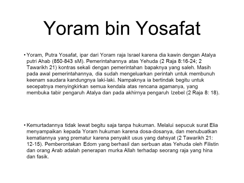 Yoram bin Yosafat