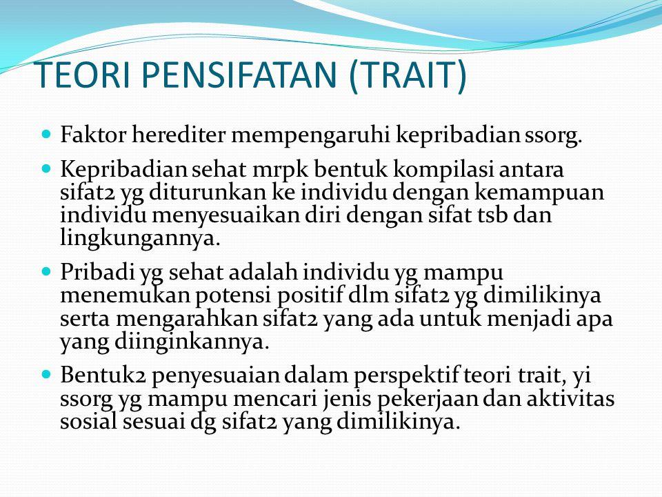 TEORI PENSIFATAN (TRAIT)