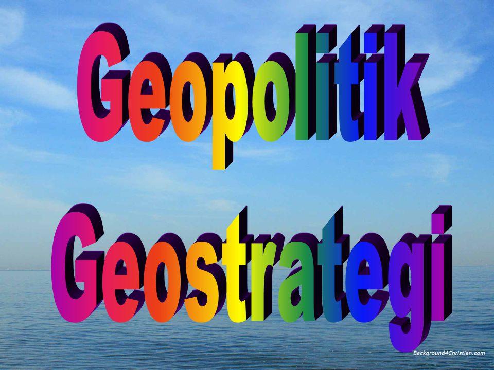 Geopolitik Geostrategi