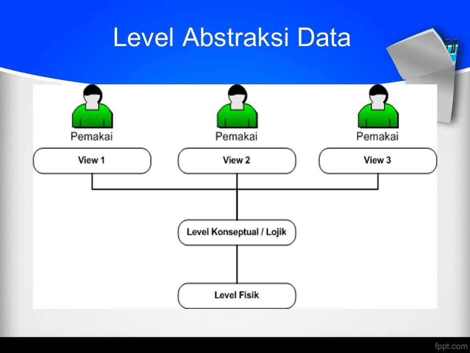 Level Abstraksi Data