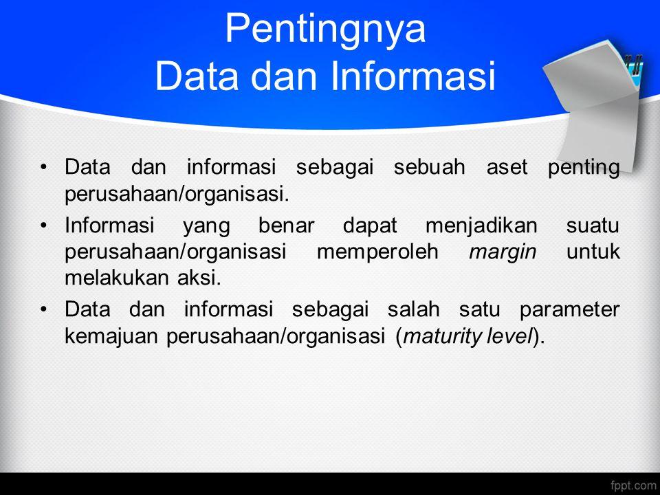 Pentingnya Data dan Informasi
