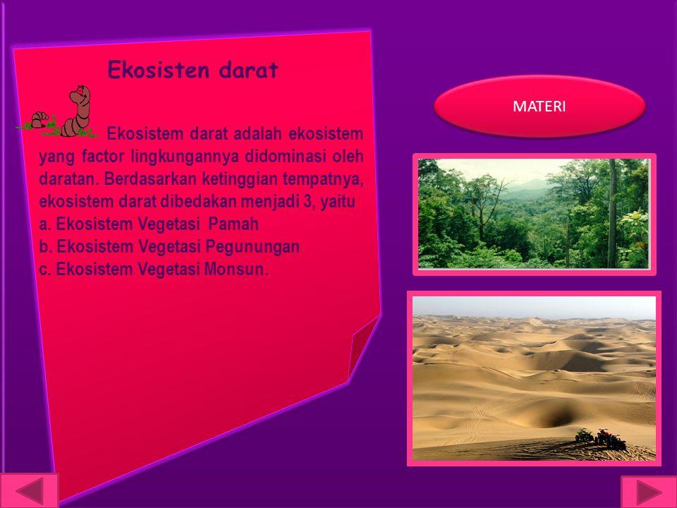 Ekosisten darat MATERI.