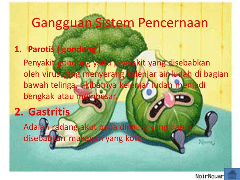 Gangguan Sistem Pencernaan