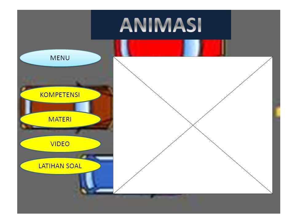 ANIMASI MENU KOMPETENSI MATERI VIDEO LATIHAN SOAL