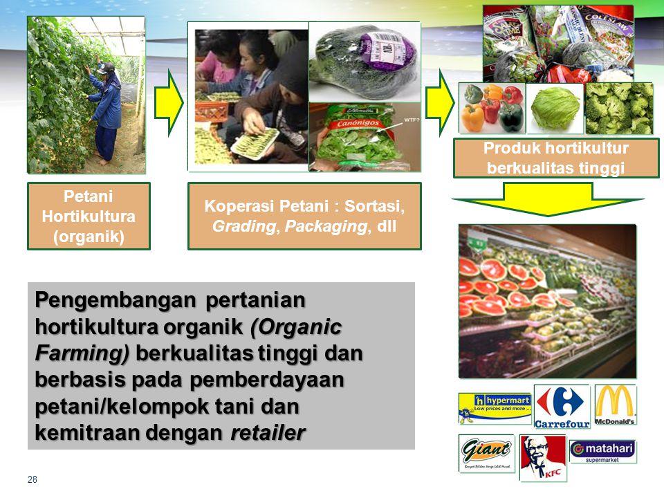 Produk hortikultur berkualitas tinggi