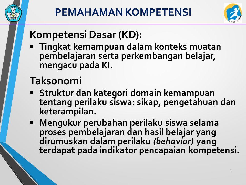Kompetensi Dasar (KD):