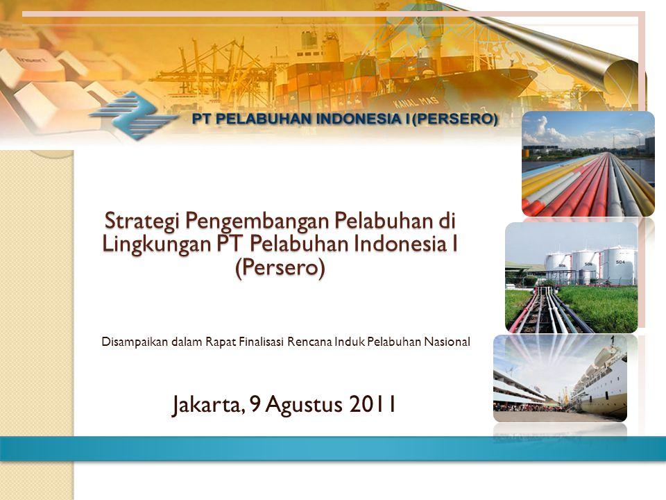 Disampaikan dalam Rapat Finalisasi Rencana Induk Pelabuhan Nasional