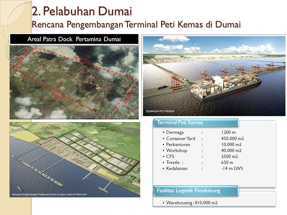 Areal Patra Dock Pertamina Dumai