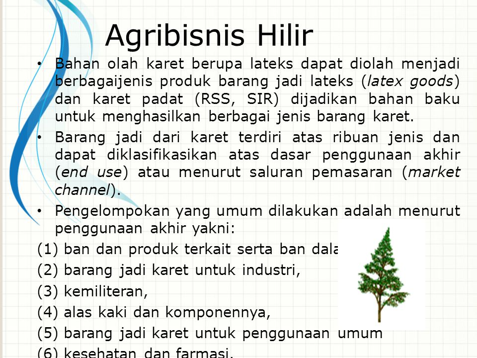 Agribisnis Hilir